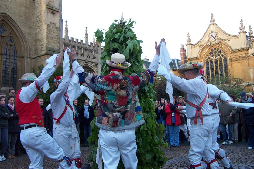 'Bonny Green' in Radcliffe Square c6.20am, 2010 (Photo: Andrew Morgan)